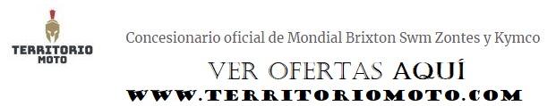 Concesionario oficial de Mondial Brixton Swm Zontes y Kymco